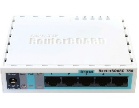 MikrotiK RB/750